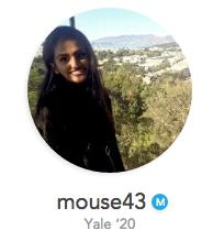 Mouse43 Yale Undergraduate Profile