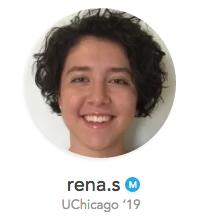 Rena.s UChicago Undergraduate Profile