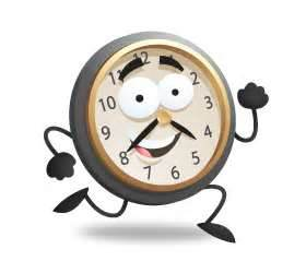 Image result for clock runing